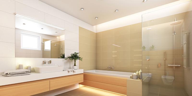 Bathroom And Kitchen Lighting